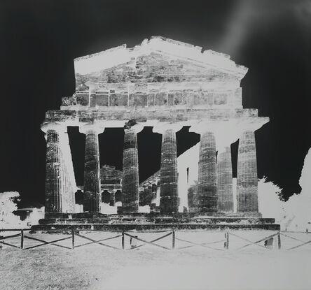 Vera Lutter, 'Temple of Athena, Paestum XIII: October 13', 2015