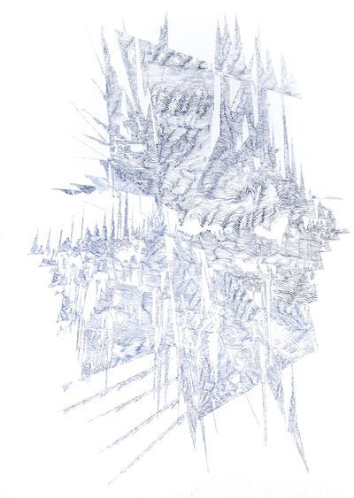 Lyndi Sales, 'Erosion drawing 1', 2017
