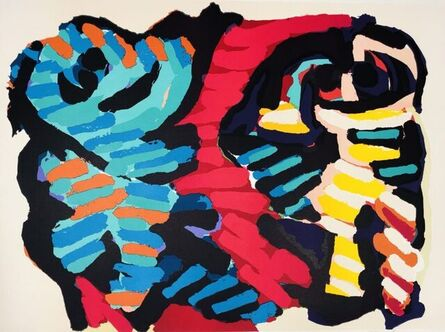 Karel Appel, 'Abstract Figuration', ca. 2003