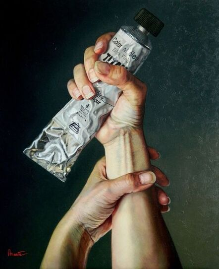 Mar Marin Leal, 'Artista Y Pintura', 2014