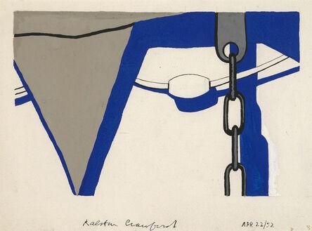 Ralston Crawford, 'Lifeboat', 1952