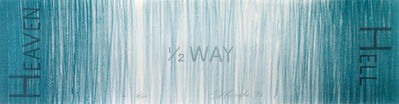 Ed Ruscha, 'Untitled (Hell 1/2 Way Heaven promo)', 1988