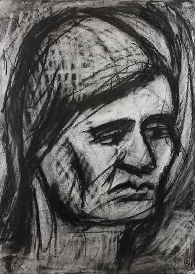 Leon Kossoff, 'Head of Rosalind', 1977