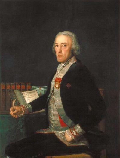 Francisco de Goya, 'Portrait of Félix Colón de Larriátegui', 1794