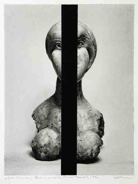 Robert Longo, 'Untitled (After Picasso, Bust of a Woman (Marie-Thérèse), 1931', 2016
