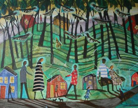 Donald Saaf, 'Hillside Shadows'