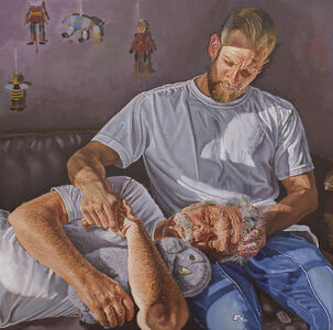 Teresa Brutcher, 'Father and Son', 2021