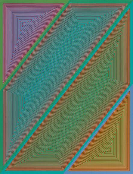 Richard Anuszkiewicz, 'Inward Eye #3, from Inward Eye', 1970
