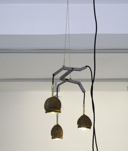 FOS, 'Coconut Chandelier with 3 Lamps', 2017