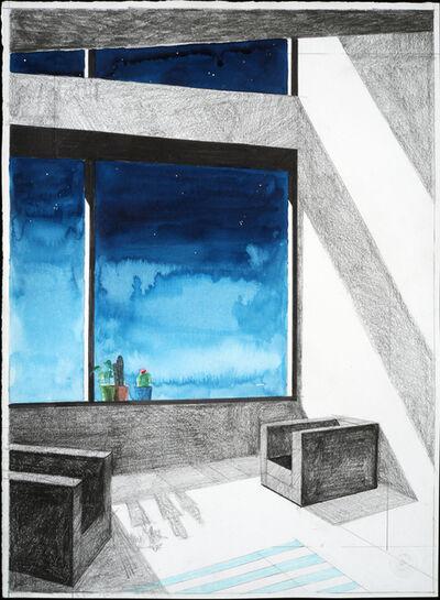 Erik Parra, 'Untitled (Window with Succulents)', 2018