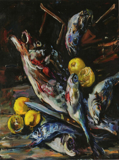 Raoul Middleman, 'Fish Motley', 2004