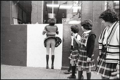 Susan Meiselas, '-After-school-on-the-corner-of-Prince-and-Mott-Streets ', 1976