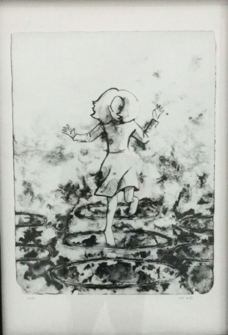 Abdul Rahman Katanani, 'Girl Jumping Rope', 2014