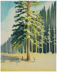 Dan Attoe, 'Cedar Tree with Creep', 2017