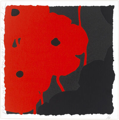 Donald Sultan, 'Black and Red, April 25, 2007', 2007