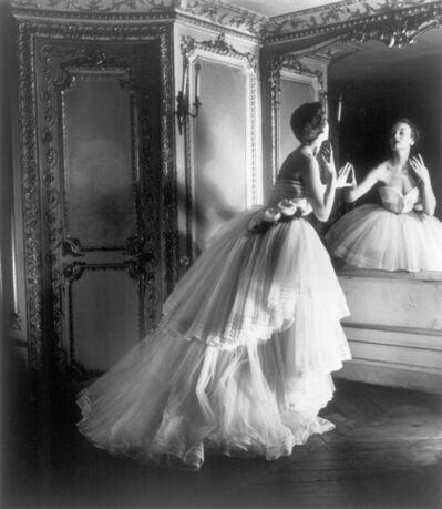 Louise Dahl-Wolfe, 'Dior Ballgown, Paris', 1950