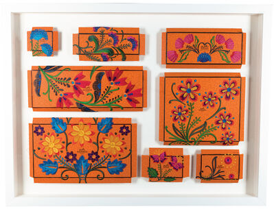 Stephen Wilson, 'Hermes Flower Garden', 2017