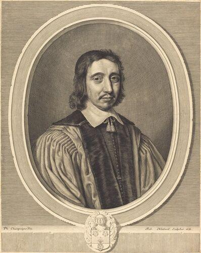 Robert Nanteuil after Philippe de Champaigne, 'Charles Benoise', 1651