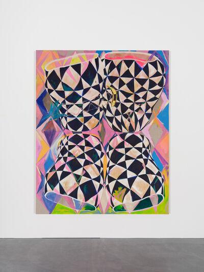 Athene Galiciadis, 'Stillleben (Vier Gefässe, Eine Banane und die Mutter der Inspiration)', 2021