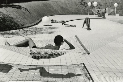 Martine Franck, 'Swimming pool designed by Alain Capeilleres, La Brusc, Var, France', 1976
