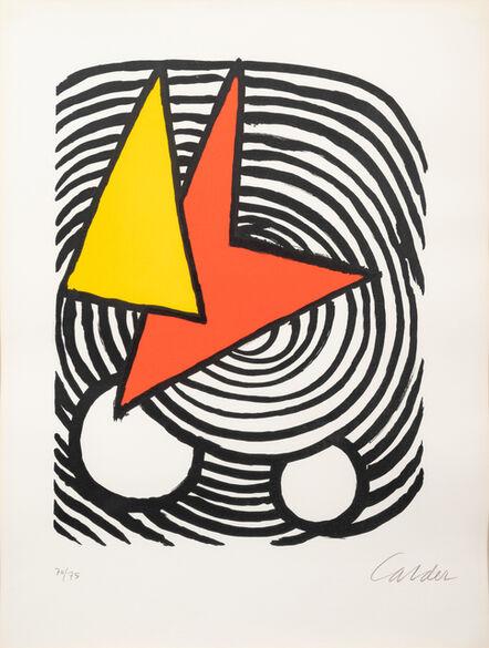 Alexander Calder, 'Triangle et Quadrilatère', 1973