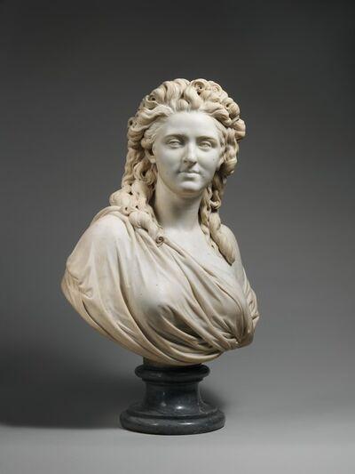 Augustin Pajou, 'Madame de Wailly, née Adélaïde-Flore Belleville (1765–1838)', 1789