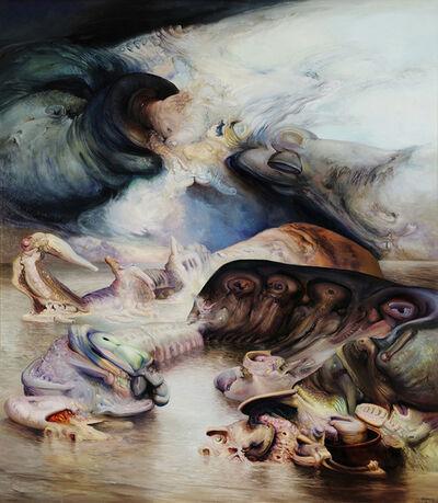 James Gleeson, 'Landfall', 1983