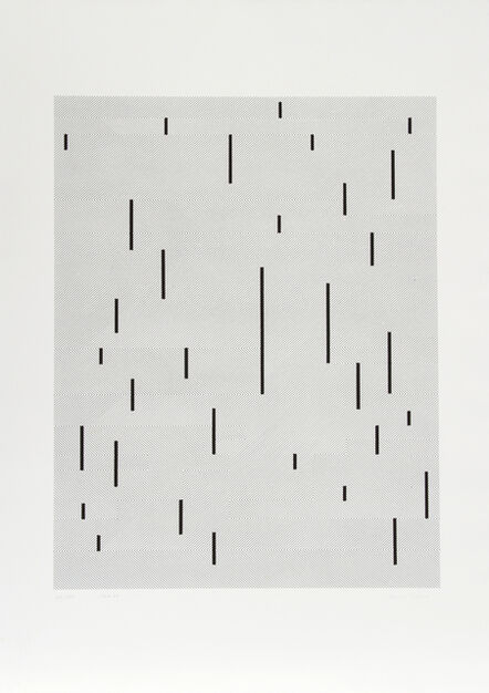 Anni Albers, 'Connections 1925 - 1983 - With Verticals 1946', 1984