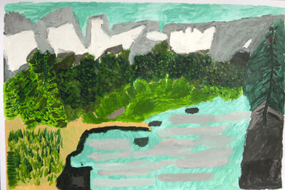 Paige Donovan, 'River and Some Trees', 2013