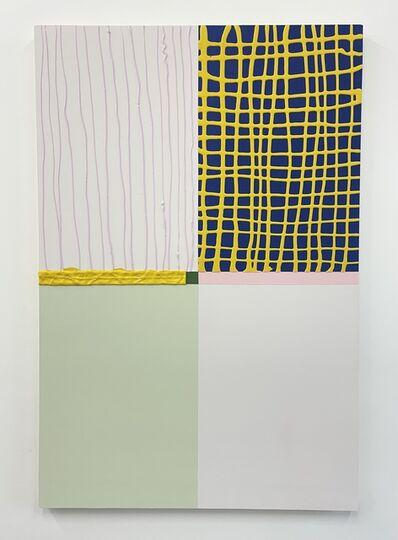 Aaron Kaveh Ossia, 'yellow is ', 2021