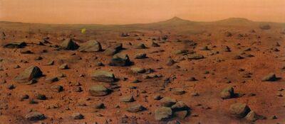 William Burton Binnie, 'Conquest (Mars)', 2012
