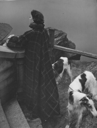 Genevieve Naylor, 'Red Scotch Cape, New York, Harper's Bazaar', 1950