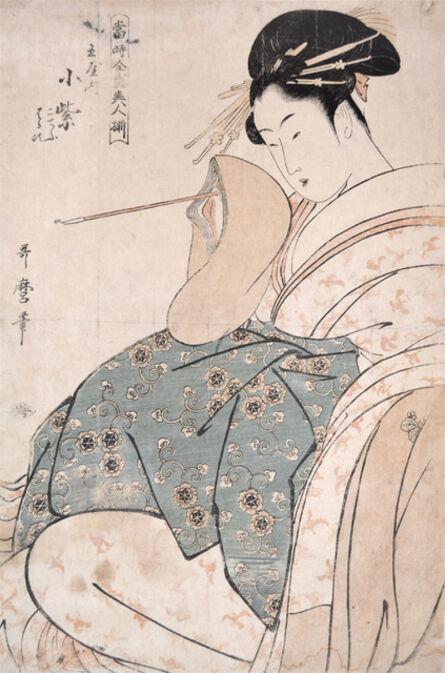 Kitagawa Utamaro, 'Komurasaki from the House of Tama', ca. 1794