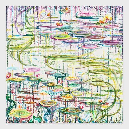 Kysa Johnson, 'blow up 415 - CRUDE (life) - Phytoplankton after Monet', 2021