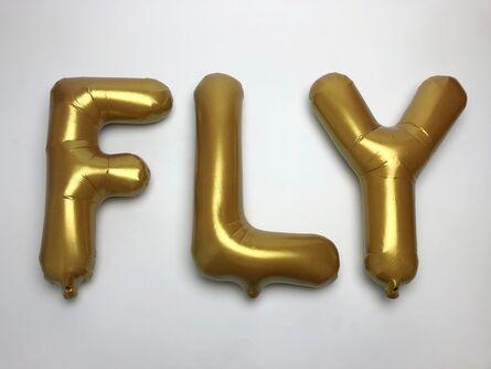 Nina Jun, 'FLY (gold)', 2018