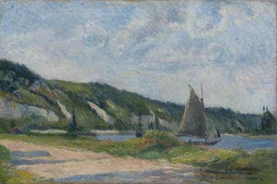Paul Gauguin, 'Les falaises de la Bouille', 1884