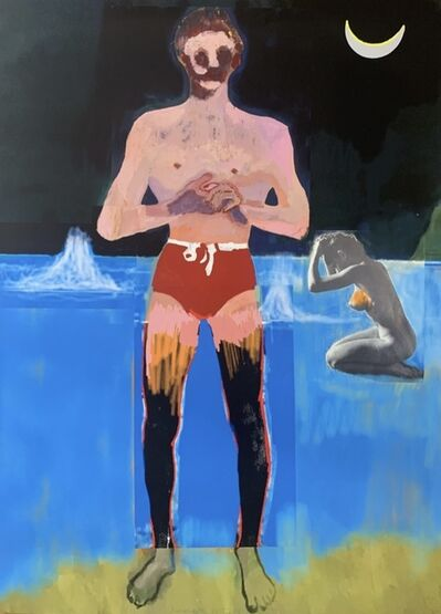 Peter Doig, 'Bather', 2020
