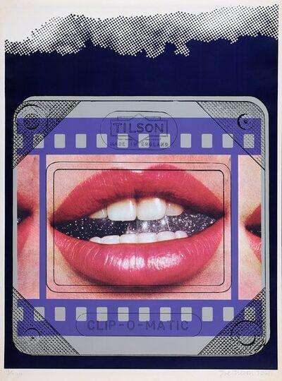 Joe Tilson RA, 'Clip O Matic Lips', 1968