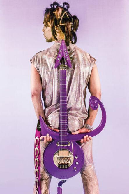 Steve Parke, 'Prince Guitar on Back', 1999