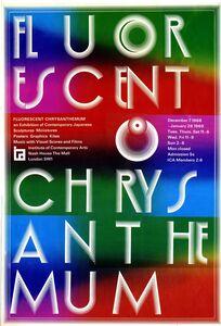 Kohei Sugiura, 'Poster from Fluorescent Chrysanthemum, ICA', 1968