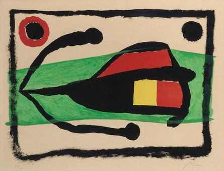 Joan Miró, 'Altamira (M. 254)', 1958