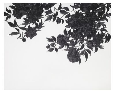Eun Ju Kim, 'Then I quietly draw a flower', 2017