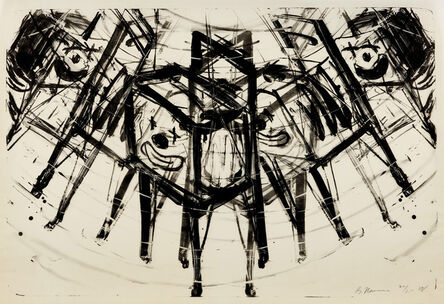Bruce Nauman, 'T.V. Clown (C. 55)', 1988