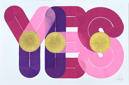 Dave Towers, 'YES 05', 2020