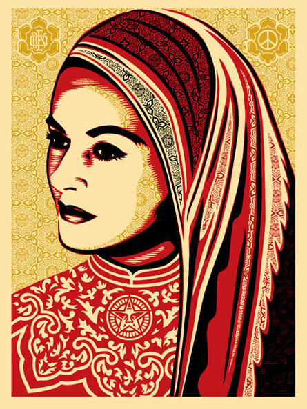 Shepard Fairey, 'Peace Woman', 2008