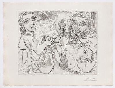 Pablo Picasso, 'Minotaure, Buveur et Femmes', 1933