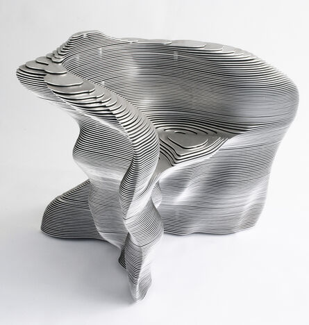 Mathias Bengtsson, 'Aluminum Spun Chair', 1999