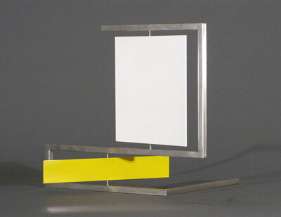 Roger Phillips, 'White Square Yellow Rectangle', 2011