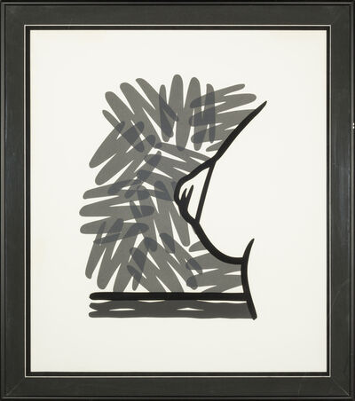 Tom Wesselmann, 'Seascape Tit with Scribble ', 1991
