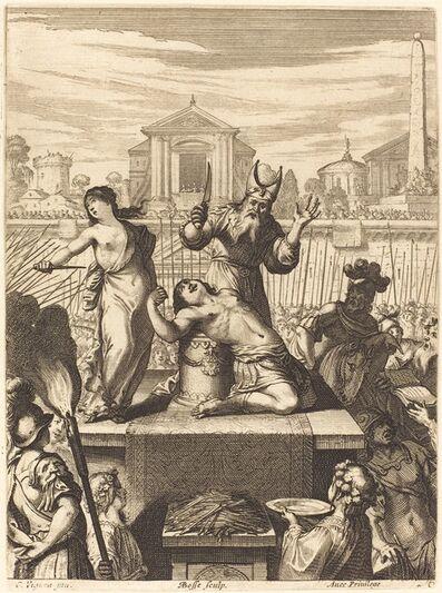 "Abraham Bosse, 'Illustration to Jean Desmarets' ""L'Ariane""', published 1639"